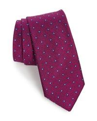 Purple Polka Dot Tie