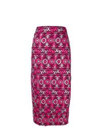 Comme Des Garçons Vintage 1999 Brocade Wrap Skirt