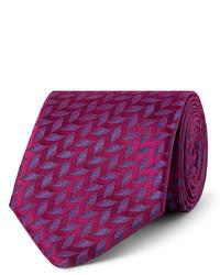 Charvet 75cm Silk Jacquard Tie