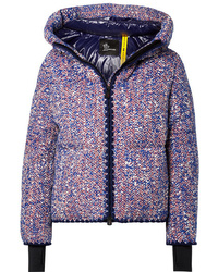 Moncler Genius 3 Grenoble Wool Blend Boucl Down Jacket