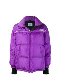 Prada Wrap Front Padded Jacket