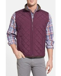 Purple Quilted Gilet