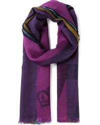 Colour block scarf medium 92732