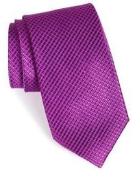 Nordstrom Shop Micro Grid Silk Tie