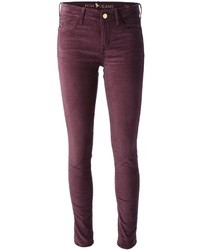 The breathless claret velvet jeans medium 31232