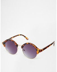 Asos Collection Classic Round Sunglasses
