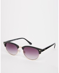 Asos Collection Oval Classic Retro Sunglasses