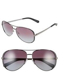 Michael Kors Michl Kors Collection 59mm Polarized Aviator Sunglasses