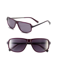 John Varvatos Collection V780 59mm Sunglasses Purple One Size