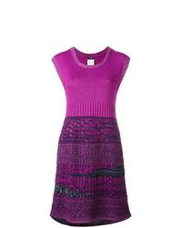 Chanel Vintage Boucl Knit Dress