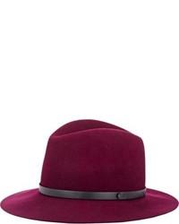 Purple Wool Hat