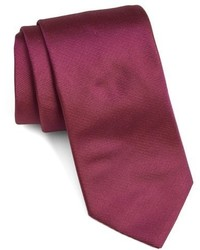 Ted Baker London Solid Woven Silk Tie