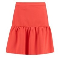 Tommy Hilfiger Imogen A Line Skirt Red