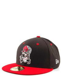 Red and Black Baseball Cap