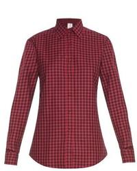 Stella Jean Seattle Checked Cotton Shirt