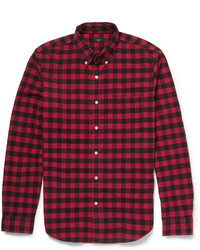 J.Crew Checked Cotton Shirt