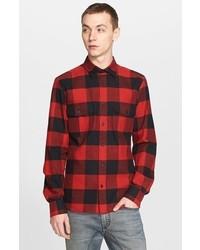 Belstaff Extra Trim Fit Buffalo Check Flannel Shirt