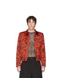 Red and Black Harrington Jacket
