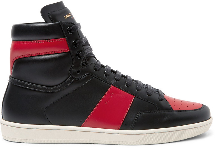 Saint Laurent Black & White SL/10 High-Top Sneakers buy cheap cheapest price discount visa payment brand new unisex online free shipping purchase sale online UwgSOD