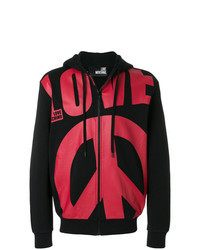 Red and Black Hoodie