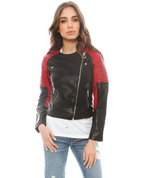 Red and Black Outerwear