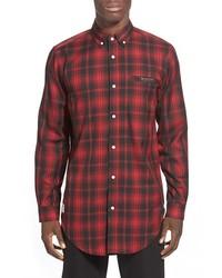 Lira clothing slate long sleeve plaid shirt medium 345787