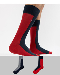Red and Black Socks