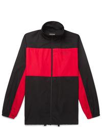 Red and Black Windbreaker