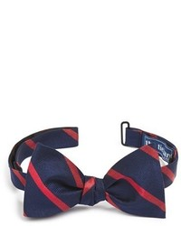 Red and Navy Bow-tie