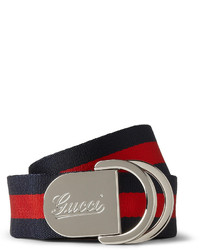 4cm striped canvas belt medium 212955