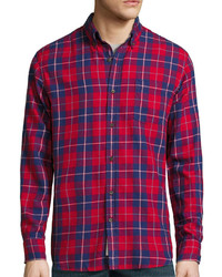 St Johns Bay St Johns Bay Long Sleeve Classic Fit Flannel Shirt
