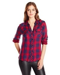 Red and Navy Shirt
