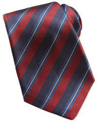 Red and Navy Tie