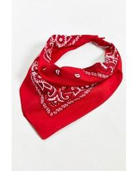 Red and White Bandana