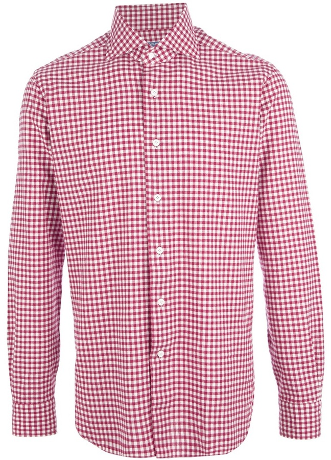 51da67a1a292c34 Barba Gingham Shirt | Where to buy & how to wear