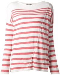 Rag bone striped pullover medium 374527