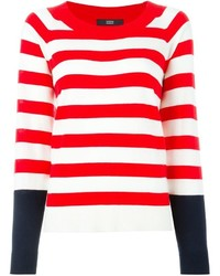 Striped sweater medium 374536
