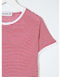 Manuel Ritz Kids Striped Short Sleeve T Shirt