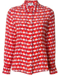 Sonia by cherry print blouse medium 141252