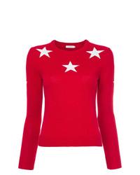 GUILD PRIME Star Motif Sweater