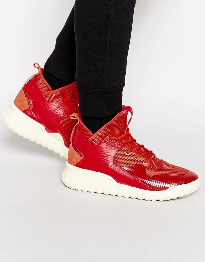 5b761d07b92a ... Red Athletic Shoes adidas Originals Tubular X Cny Sneakers ...