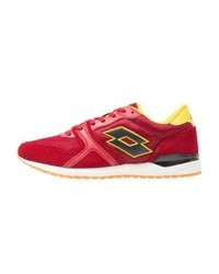 LOTTO Record Ix Net Trainers Red Raspberryblack