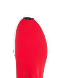 6d250eca7415 ... Balenciaga Red Speed Low Sneakers