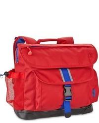 Bixbee Boys Large Water Resistant Backpack Red