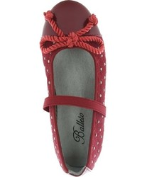 Jumping Jacks Girls Katrina Studded Ballet Flat