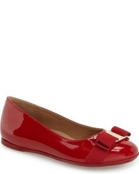 Salvatore Ferragamo Toddler Girls Mini Varina Bow Flat
