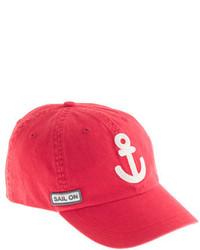 J.Crew Kids Anchor Baseball Cap