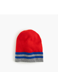 J.Crew Kids Striped Cashmere Beanie Hat