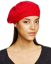 Bloomingdale's C By Cashmere Ribbed Beret