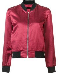 3x1 Zipped Bomber Jacket